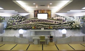 一般葬プラン 特別祭壇