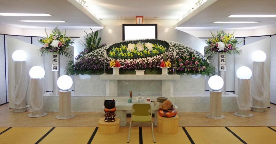 一般葬プラン 100万円(税別)